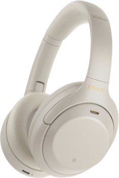 Sony-Noise-Cancelling-Headphones-Silver on sale