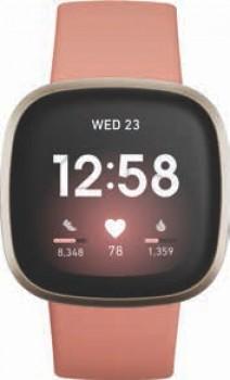 Fitbit-Versa-3-Pink-ClaySoft-Gold on sale
