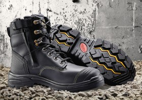Oliver-AT-55-345Z-Black-150mm-Zip-Sided-Safety-Boots-with-TECtuff-Toe-Bumper on sale