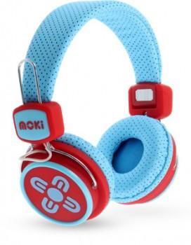 Moki-Kids-Safe-Volume-Headphones-Blue-and-Red on sale