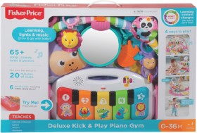 Fisher-Price-Deluxe-Kick-n-Play-Piano-Gym-Assorted on sale