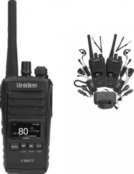 Uniden-5W-80ch-UHF-Splashproof-CB-Radio on sale