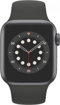 Apple-Watch-Series-6-GPS-40mm-Space-Grey-Aluminium-Case-with-Black-Sport-Band on sale