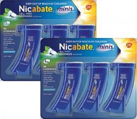 Nicabate-Minis-1.5mg-or-4mg-60-Lozenges on sale