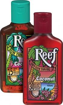 Reef-Sun-Tan-Oil-125mL-range on sale