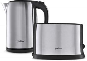 Sunbeam-Breakfast-Essentials-Kettle-and-2-Slice-Toaster-Pack on sale