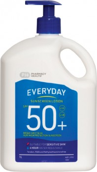 Pharmacy-Health-Everyday-Sunscreen-Lotion-SPF50-1L on sale