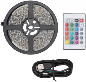 LED-Strip-Light-with-Remote-5m-Cable-Length on sale