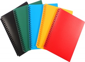 Refillable-Display-Book-A4-20-Pockets on sale