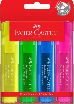 Faber-Castell-Highlighter-4-Pack on sale