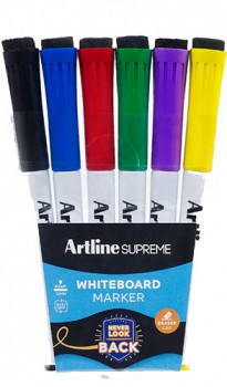 Artline-Supreme-Whiteboard-Marker-6-Pack on sale