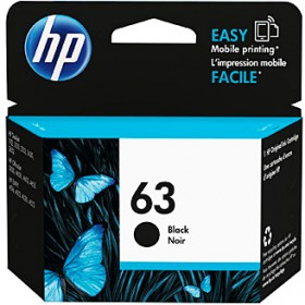 HP-63-Black-Ink on sale