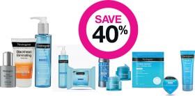 Save-40-on-Neutrogena-Skincare-Suncare-Ranges on sale