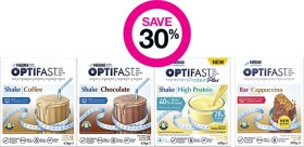 Save-30-on-Selected-Optifast-Products on sale