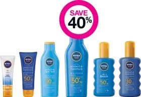 Save-40-on-Nivea-Suncare-Range on sale