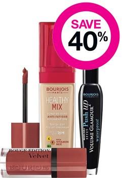 Save-40-on-Bourjois-Cosmetic-Range on sale