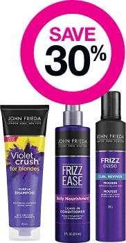 Save-30-on-John-Frieda-Haircare-Range on sale