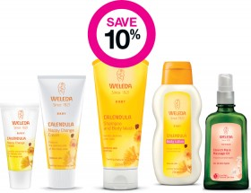 Save-10-on-Weleda-Baby-Range on sale
