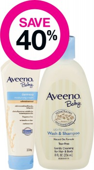 Save-40-on-Aveeno-Baby-Range on sale