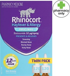 Rhinocort-Original-Twin-Pack on sale