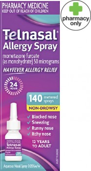 Telnasal-Allergy-140-Sprays on sale