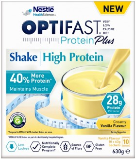 Optifast-VLCD-Protein-Plus-High-Protein-Shake-10-Pack on sale