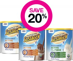 Save-20-on-Selected-Sustagen-Products on sale