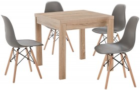 Havana-5-Piece-Dining-Set-with-Replica-Eames-Chairs on sale