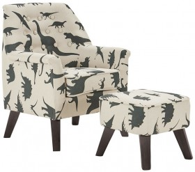 Sofasaurus-Chair-and-Footstool-Set on sale