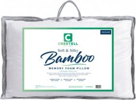Crestell-Bamboo-Memory-Foam-Pillow on sale