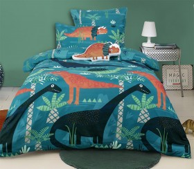 Kids-House-Funky-Dino-Quilt-Cover-Set on sale