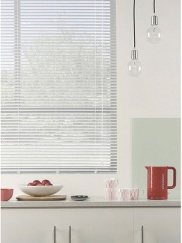 60-off-Ready-To-Hang-25mm-White-Aluminium-Venetians on sale
