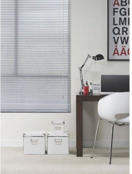 60-off-Ready-To-Hang-25mm-Silver-Aluminium-Venetians on sale