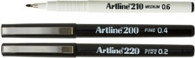 Artline-210-200-or-220-Fineliner-Pens on sale