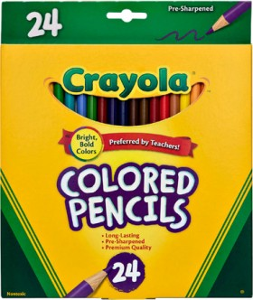 Crayola-24-Pack-Colored-Pencils on sale