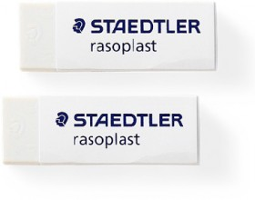 Staedtler-2-Pack-Rasoplast-Erasers on sale