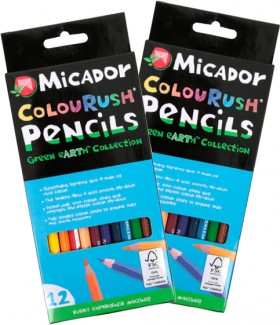 Micador-12-Pack-ColouRush-Pencils on sale