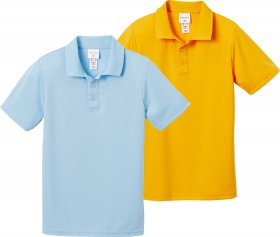 Brilliant-Basics-Kids-Mesh-Polo-Shirts on sale