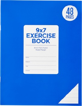 Brilliant-Basics-48-Page-9x7-Exercise-Book on sale