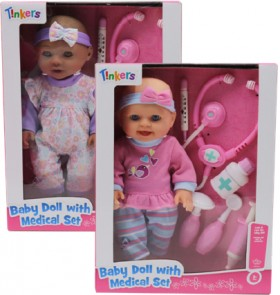 Tinkers-Medial-Doll-Set on sale