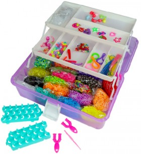NEW-Loom-Bands-8000-Piece-Carry-Case-Kit on sale