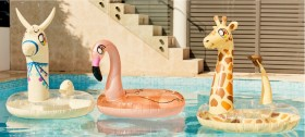 Glitter-Swim-Ring-Pool-Floats on sale