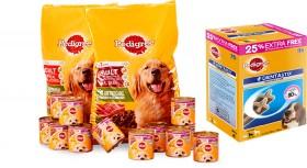 Pedigree-Dog-Food-and-Treats on sale