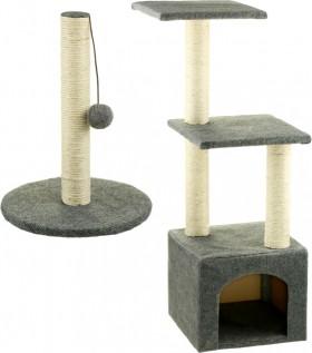 Brilliant-Basics-Cat-Scratching-Post-40cm-or-Cat-Playhouse on sale