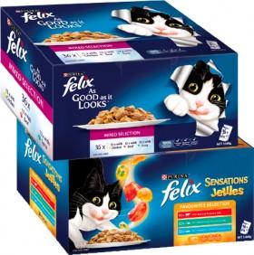 Felix-36-Pack-Wet-Cat-Food-Pouch-Varieties-85g on sale