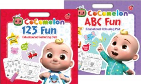 CoComelon-Educational-Books on sale