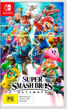 Nintendo-Switch-Super-Smash-Bros-Ultimate on sale