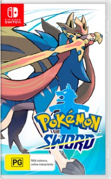 Nintendo-Switch-Pokemon-Sword on sale
