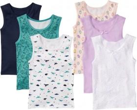 Brilliant-Basics-Kids-3-Pack-Print-Vests on sale