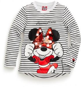 Disney-Kids-Minnie-Stripe-Luv-Tee on sale